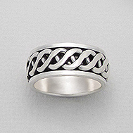 Ring Celtic Knot Band 1-139-105