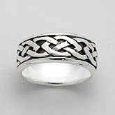 Ring Celtic Knot Band 57-767-309