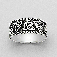 Ring Eternity Knot Band 57-767-604