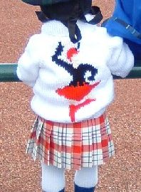 highland dancer cardigan