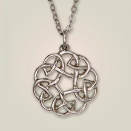131 Eternal Interlace Pendant
