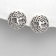Earrings Tree of Life 54-706-11861