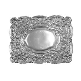 125202 Oval Thistle Buckle