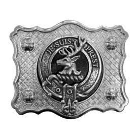 Buckle Blank w Badge