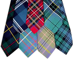 Tartan Sashes and Ties