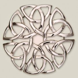 160 Eternal Interlace Brooch