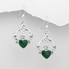 Earrings Claddagh 60-781-4546