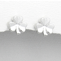 Earrings Shamrock 125-1076-56