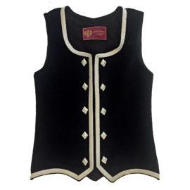 Stock Size Black Vest